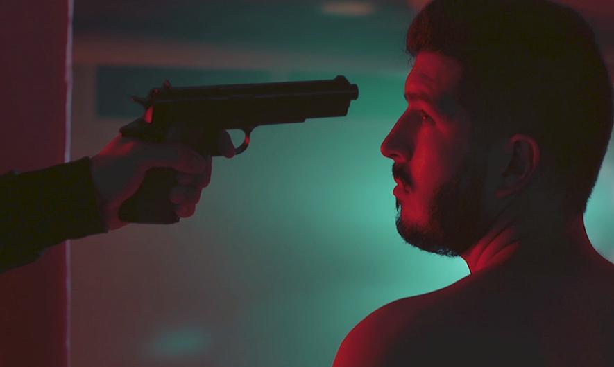 Scene tirée du clip des blowing silence down